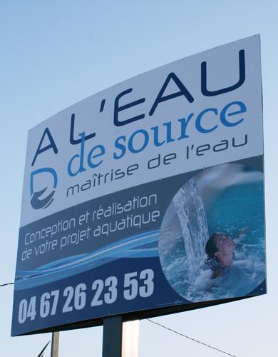 Relooking logo à l'Eau de Source